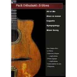 Pack débutant - 5 Titres